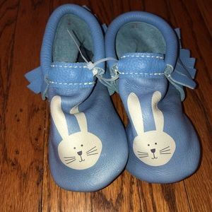 Freshly Picked Bunny Moccasins